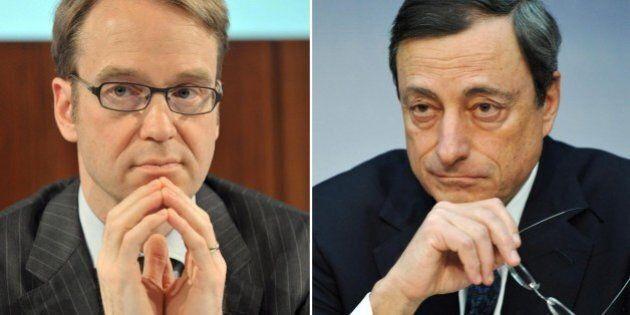 Bce, Jens Weidmann interrompe il silenzio e torna a criticare Mario Draghi: