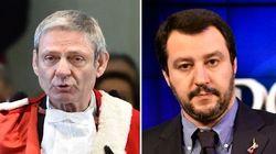 Vertici della Cassazione contro Salvini: