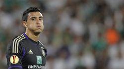Il calciatore dell'Anderlecht Suarez: