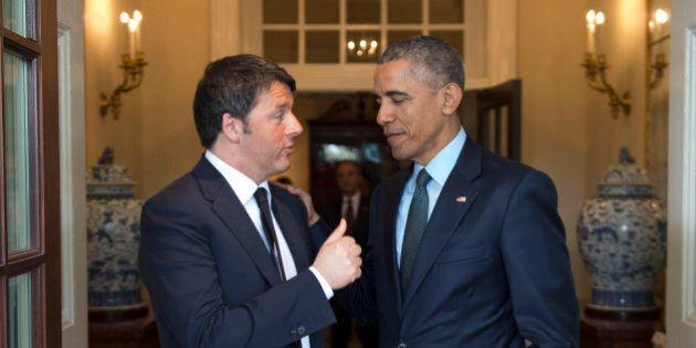 Terrorismo, colloquio Renzi-Obama su Iraq, Siria e rapporti con la