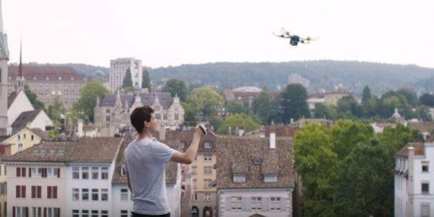Fotokite Phi, il drone