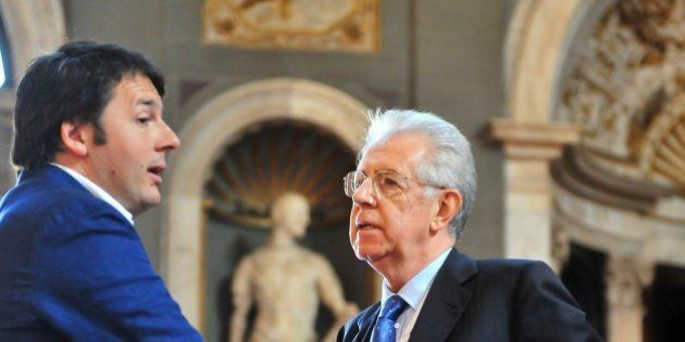 Mario Monti contro