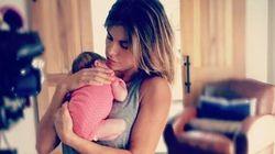 La Canalis e sua figlia Skyler: prima foto su