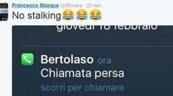 Storace pubblica la foto della chiamata persa di Bertolaso: