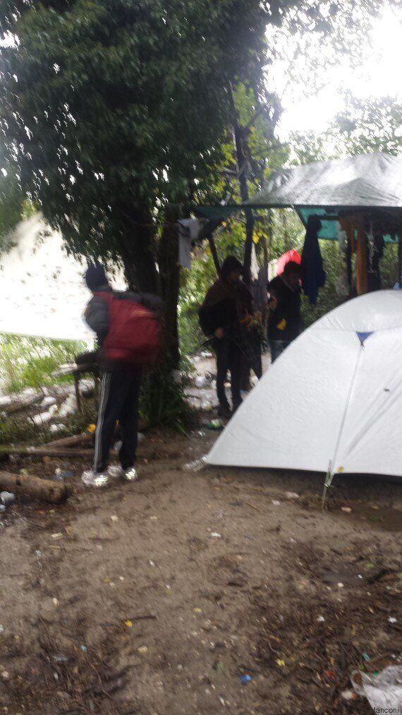Rischio esondazione per i profughi accampati lungo