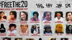 #FreeThe20 per liberare le donne prigioniere. La diplomazia umanitaria di cui ha bisogno anche