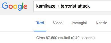 Kamikaze, attentatori, terroristi o