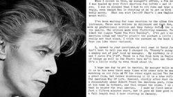 La risposta di David Bowie alla lettera della prima fan