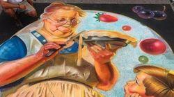 Le favolose immagini in 3D del Sarasota Chalk