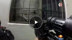 Spari ed esplosioni: il video del blitz della cattura di El