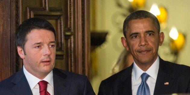 Barack Obama chiama Matteo Renzi: nessuna richiesta militare, ma allerta su Italia e
