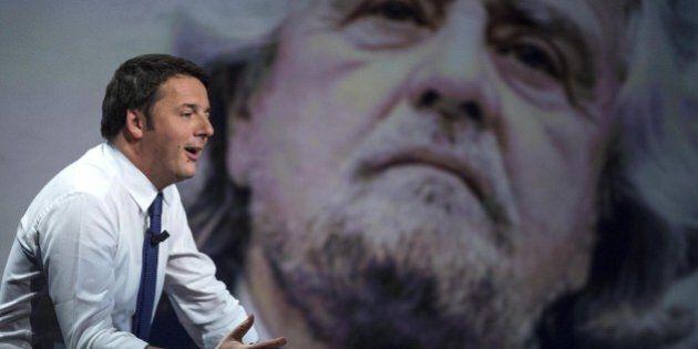Matteo Renzi alla sfida diretta con M5S. Studia l'avversario in vista delle amministrative e