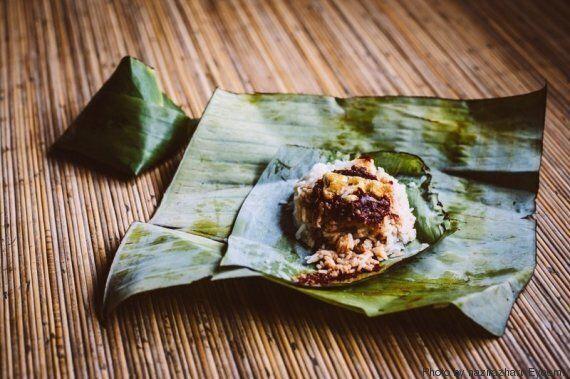 La colazione, il pranzo più importante della giornata, fotografata in ogni parte del mondo: da Singapore...