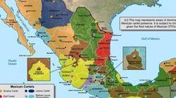 La nuova mappa del narcotraffico in Messico e Stati