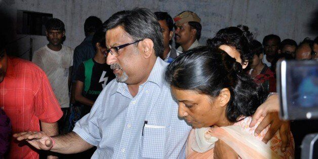 'GHAZIABAD, INDIA - SEPTEMBER 25: Dentist Nupur Talwar, facing trial in the twin murder case of her daughter Aarushi and dome