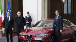 Marchionne presenta la nuova Giulia: