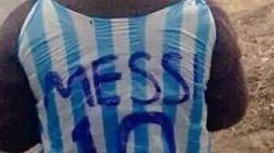 La storia felice del piccolo con la maglia di Messi