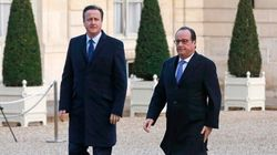 Cameron vede Hollande: