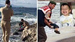 Come Aylan, bimba di 4 anni ritrovata dai pescatori in