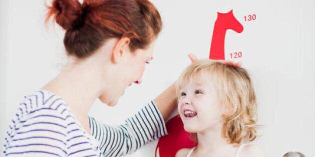 Quanto sarà alto il vostro bambino? Questa semplice formula matematica ve lo