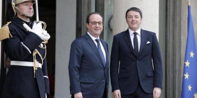 Parigi. La proposta di Renzi per Hollande: strapparlo ad una strategia cieca e solitaria. Giovedì premier