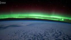 L'aurora boreale dallo Spazio: l'incanto in 44