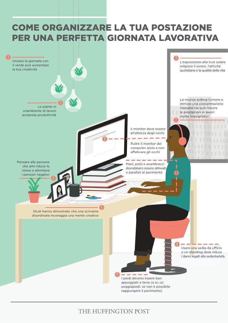 Come organizzare la scrivania per rendere il lavoro di tutti i giorni più produttivo