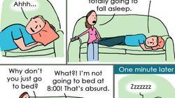 Questa vignetta ritrae perfettamente la routine delle coppie sposate di tutto il