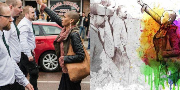 Questo disegno di un illustratore spagnolo è il più bell'omaggio alla donna che ha sfidato i