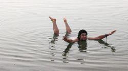 Galleggiare nel Mar Morto, il punto di basso della
