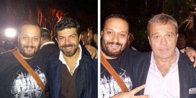 Suburra, esponente del clan Spada fotografato con Pierfrancesco Favino e Claudio Amendola. La denuncia...