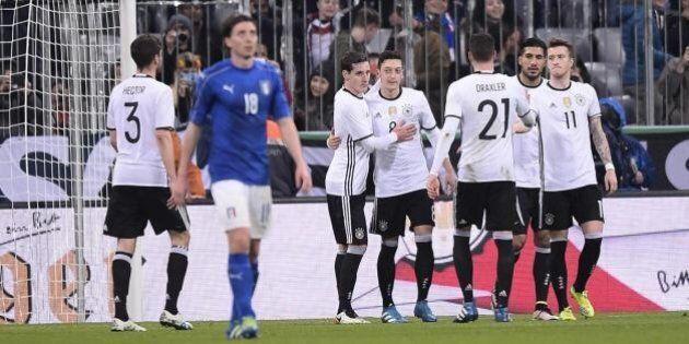 Italia bocciata con la Germania. Ora resta lo spirito di squadra, ma