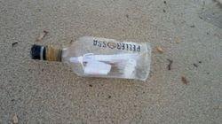Una bottiglia ha