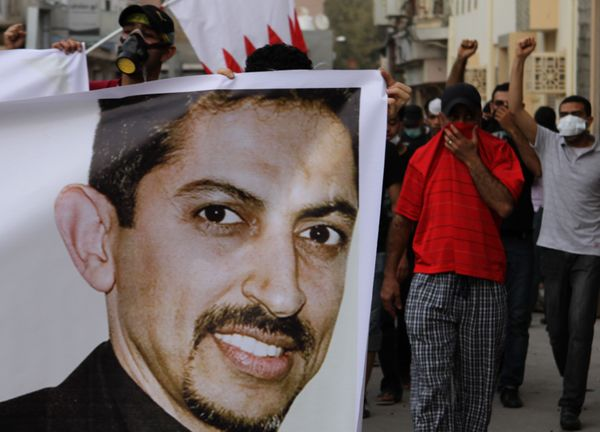 """Considered the """"father of Bahrain's human rights movement,"""" Abdulhadi al-Khawaja is currently serving a life sentence in pris"""