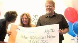 Colpito da un fulmine da bambino, vince più di un miliardo alla lotteria