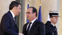 Renzi incontra Hollande