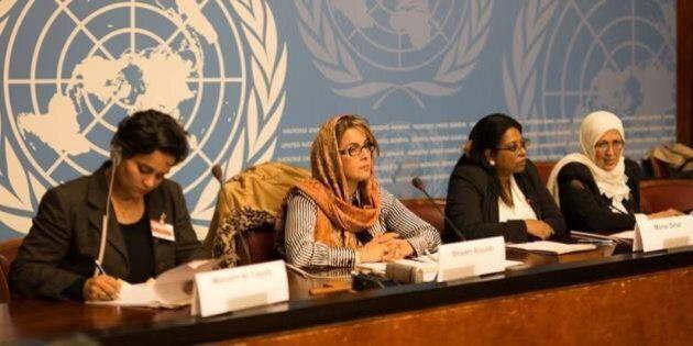 Una donna all'Onu, per lottare contro la violenza sulle