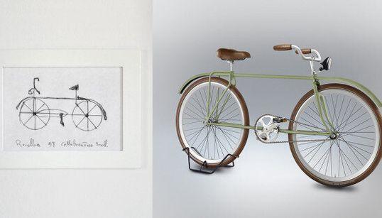 Pensi di sapere disegnare una bicicletta? Questo progetto ti spiega che non è così facile