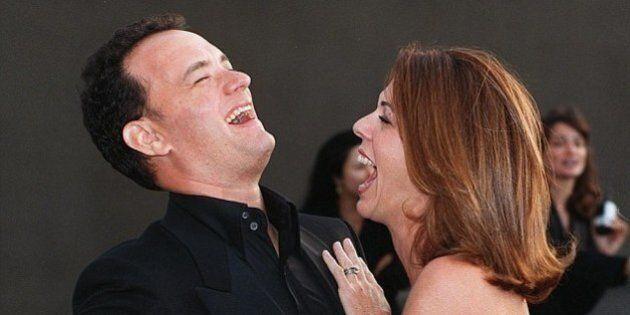 Tom Hanks racconta la battaglia contro il cancro della moglie Rita Wilson al Daily Mail.