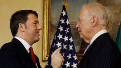 Matteo Renzi vede Joe Biden: benedizione Usa sulla prudenza