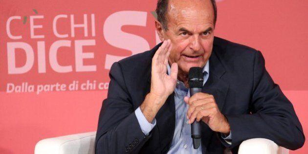 Pier Luigi Bersani avvisa Matteo Renzi: