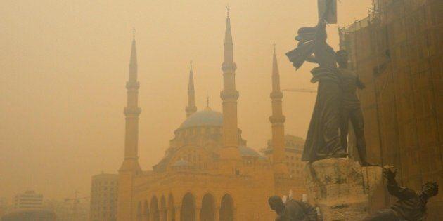 Libano, tempesta di sabbia. Ricoverate 750 persone con problemi respiratori, anche 2 morti