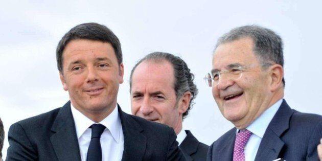 Romano Prodi, Matteo Renzi