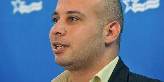 Egyptian activist Ahmed Maher holds a discussion on 'What's Next for Egypt.'at the Arab American Institute October 18, 2011 i