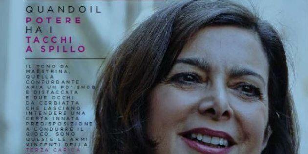 Laura Boldrini su Playboy: dopo la Boschi anche la Presidenta sbarca sul