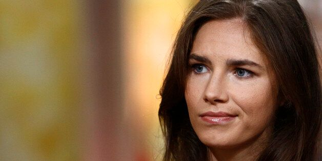 TODAY -- Pictured: Amanda Knox appears on NBC News' 'Today' show -- (Photo by: Peter Kramer/NBC/NBC NewsWire via Getty Images