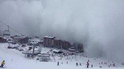 Una valanga nelle alpi francesi travolge scolaresca: morti due