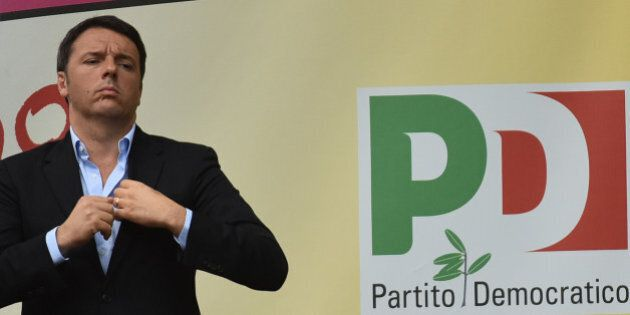 Matteo Renzi incontra i senatori democrat: