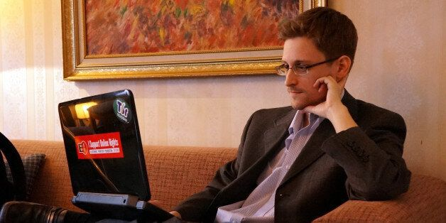 MOSCOW, RUSSIA - DECEMBER 2013:  (EXCLUSIVE ACCESS; PREMIUM RATES (3X) APPLY) Former intelligence contractor Edward Snowden p