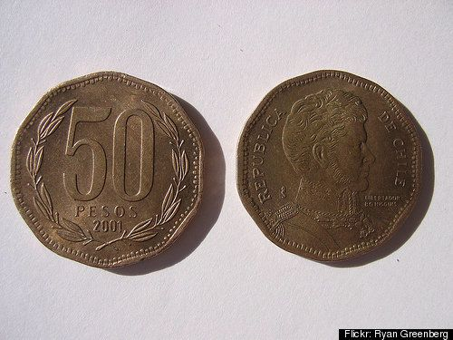 Chilean Mint Boss Fired For Misspelling Country S Name On Coins Huffpost
